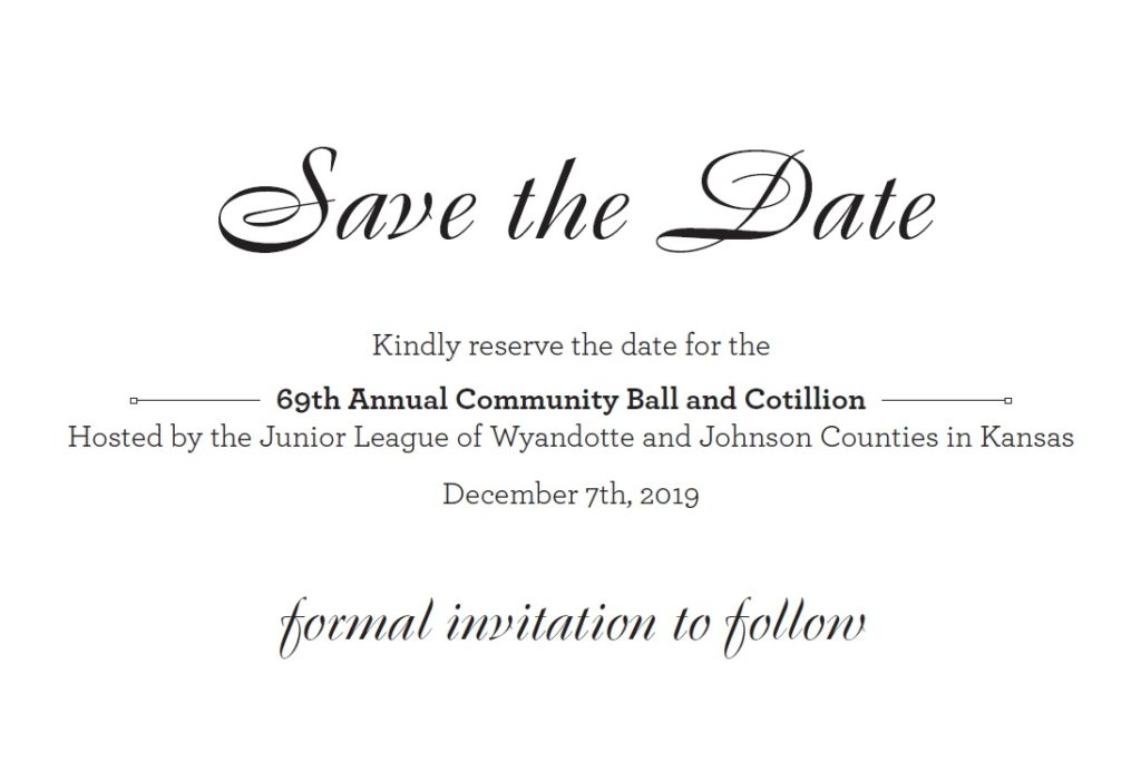 Save the Date | December 7th, 2019