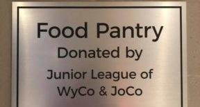 Food Pantry Donated by Junior League of WyCo & JoCo
