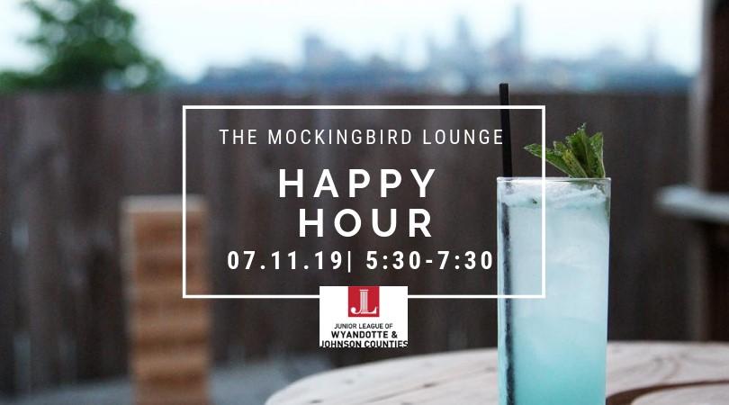 The Mockingbird Lounge   Happy Hour   07/11/2019, 5:30-7:30