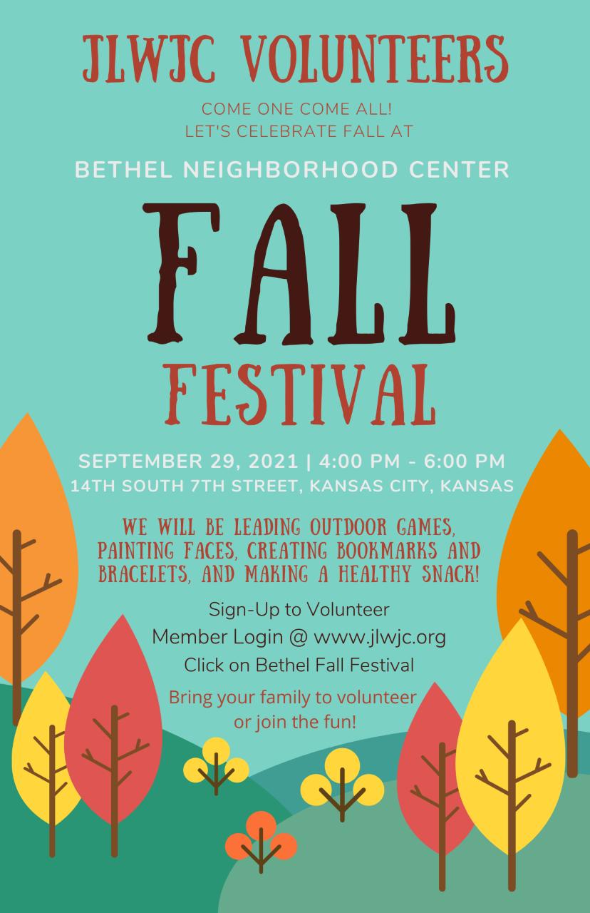 Fall Festival - September 29, 2021   4:00 PM - 6:00 PM